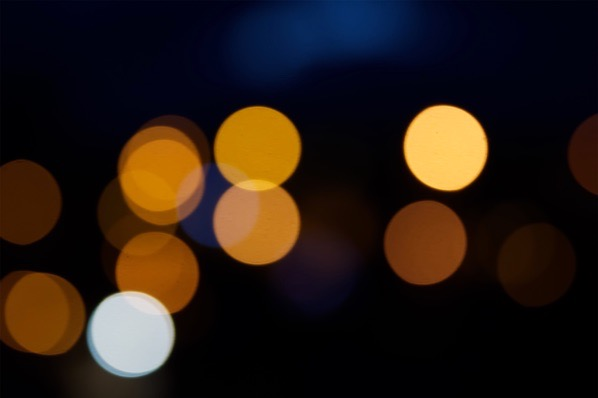 Dark and yellow bokeh... — preview