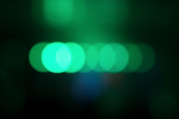 Dark and green bokeh... — preview